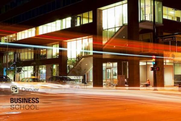 Business School in gold