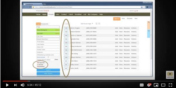 Screenshot of webinar