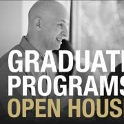 Grad program open house